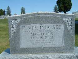 Dorothy Virginia Ake