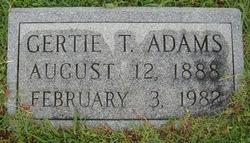 Gertie T. Adams