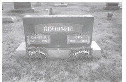 Garnet N <i>Oliver</i> Goodnite