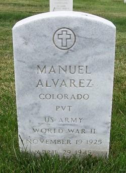 Pvt Manuel Alvarez