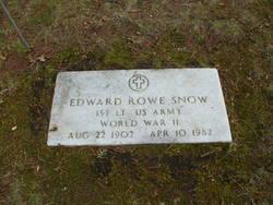 Lieut Edward Rowe Snow
