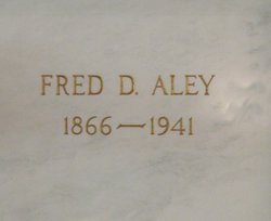 Frederic D Fred Aley