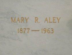 Mary Rhea <i>Wilson</i> Aley