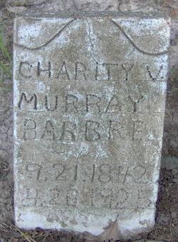 Charity V. <i>Murray</i> Barbre
