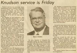 Dean Alvin Knudson