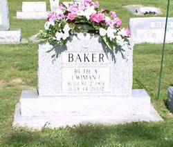 Ruth Alma <i>Wiman Elliott</i> Baker