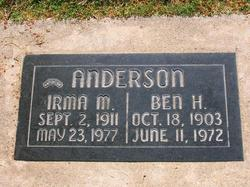 Benjamin Harrison Ben Anderson
