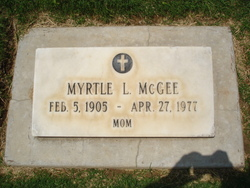 Myrtle Lilliam <i>Skelton</i> McGee