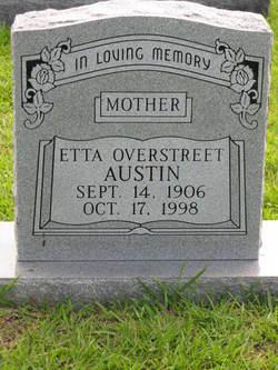 Etta <i>Overstreet</i> Austin