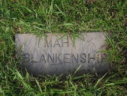 Mary <i>Lancaster</i> Blankenship