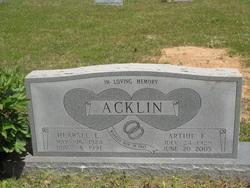 Arthie <i>Mead</i> Acklin
