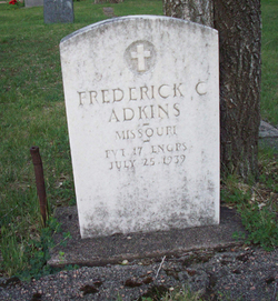 Pvt Frederick C. Adkins