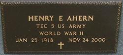 Henry E Ahern