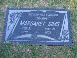 Sarah Margaret <i>Middleton</i> Sims