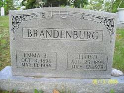 Emma <i>Begley</i> Brandenburg