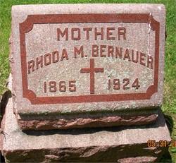 Rhoda Marie <i>Hicks</i> Bernauer