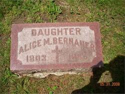 Alice M. Bernauer