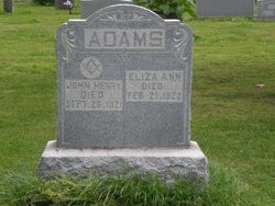 Eliza Ann Adams