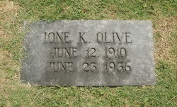 Ione K. Olive