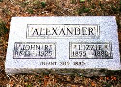 Elizabeth Lizzie <i>Coblentz</i> Alexander
