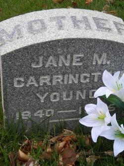 Jane Maria <i>Carrington</i> Young