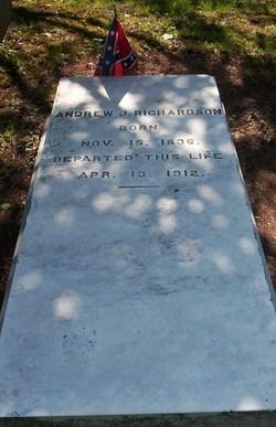 Maj Andrew Jackson Richardson