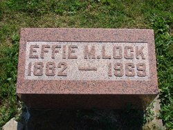 Effie Mae <i>Wysong</i> Lock