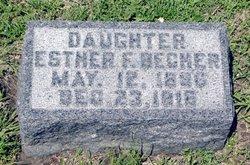 Esther F. Becher