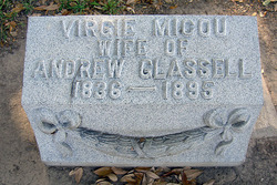 Virgie <i>Micou</i> Glassell