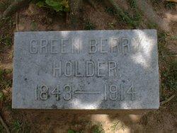 Green Berry Holder