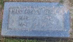Mary Elizabeth <i>Cowart</i> Adcock