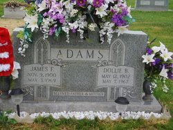 Dollie B. <i>Ballard</i> Adams