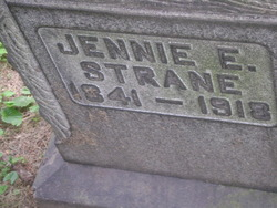 Eliza Jane E. Jennie <i>Strane</i> Acheson