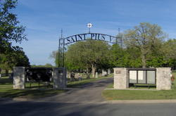 Saint Pius V Catholic Church Cemetery