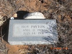 William Hoy Payton