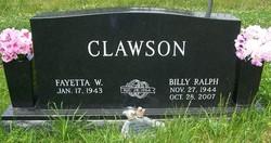 Billy Ralph Clawson