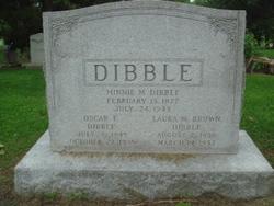 Oscar F Dibble