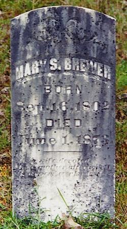 Mary Spence <i>Walpole</i> Brewer