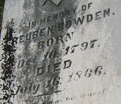 Reuben Bowden