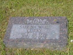 Sabrina Marie Curry