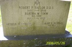 Dr Robert P Baylor