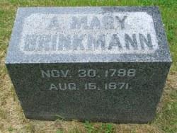 A. Mary Brinkman