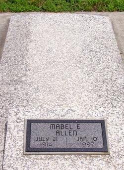 Mabel E Allen
