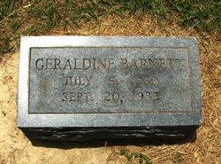 Geraldine Barnett