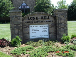 Lone Hill United Baptist Church Cemetery