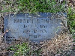 Harriett Ella <i>Johnson</i> Temple