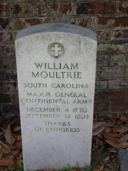 Maj William Moultrie