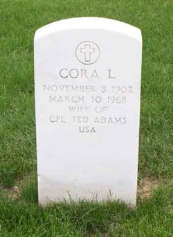 Cora L Adams
