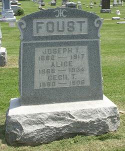 Margaret Alice Isabell Alice <i>McCoy</i> Foust