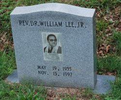 Rev William Lee, Jr